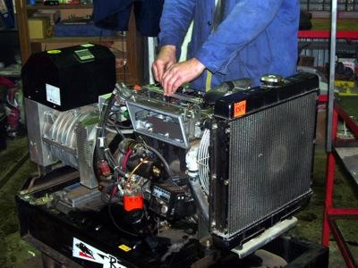ремонт бензинового генератора